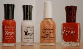 nail polish collection avon maybelline nyx sally hansen