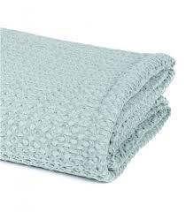 jetee de canapé jeté de canapé couvre lit bleu pétrole 100 coton plaid addict