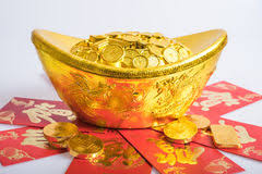 new year gold coins new year gold coins stock photo image 65798812