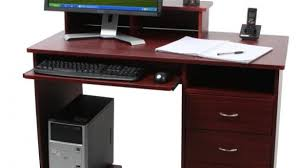 Small Computer Desk With Drawers Brilliant Small Computer Desk With Drawers Within Furniture Great