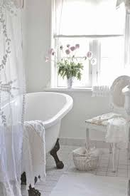 Shabby Chic Bathroom Storage Bathroom Shabby Chic White Painted Furniture Curtain Rod Bedroom
