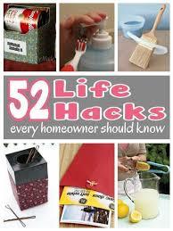 diy hacks home 52 life hacks every homeowner should know diy cozy home