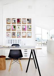 office clean laminate floor with scandinavian black wooden home smart art photos wall decor with scandinavian black and white home office set plus