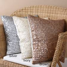 embroidered throw pillows sale shop the best deals for jun 2017