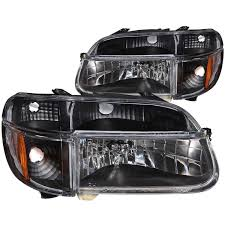 1996 ford explorer tail light assembly amazon com anzo usa 111039 ford explorer crystal with amber corner