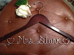 personalized wedding hangers sale personalized wedding hangers bridal hangers by highendhangers