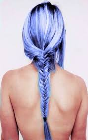 bandage hair shaped pattern baldness lilac and blue hair male hairstyles pinterest blue hair