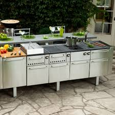 decor wondrous modular outdoor kitchens with fancy accents trends wonderful elegant stainless steel modular outdoor kitchens and grill kitchen decor