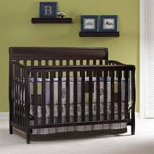 Graco Stanton Convertible Crib Reviews Graco Stanton 4 In 1 Convertible Crib In Cherry 04530 664