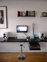 Wall Mounted Mac Mini Workstation My Design Pinterest Mac