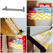 Sling Bookcase White by Diy Grundtal Fabric Sling Bookcase Ikea Hackers Ikea Hackers