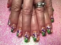 cuban springtime nail art designs by top nails clarksville tn