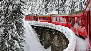 bbc travel the swiss train tourists don t take ride the rhaetian railway credit harold cunningham getty