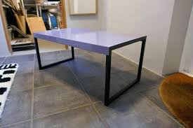 stained table top painted legs habitat table kilo habitat kilo occasional coffee table grey painted
