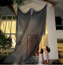 spooky decorations size black creepy cloth 180 x 40 will not