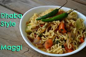 maggi cuisine मस ल म ग dhabha style maggi from indian food by