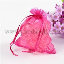 wholesale organza bags wholesale organza bags s day bags magenta 12x10cm