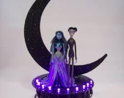 corpse cake topper nightmare before christmas groom and zero wedding cake