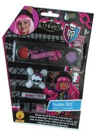 Monster High Halloween Wolf Doll by Monster High Howleen Wolf Makeup Kit
