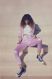 boo hoo zendaya curates collection for boohoo and models in caign