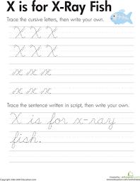 cursive letters a z education com cursive letters pinterest