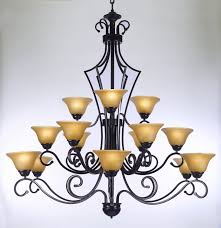 Chandelier Gallery F84 451 15 Gallery Wrought Without Wrought Iron Chandelier