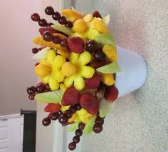edibles fruit baskets make an edible fruit bouquet easy how to photos