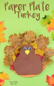 paper plate turkey craft easy peasy and