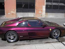 purple ferrari wallpaper side purple ferrari dallas car show 2002 car pictures by carjunky