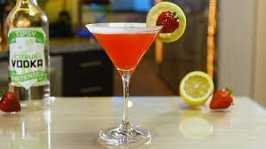 lemon drop martini strawberry lemon drop martini youtube