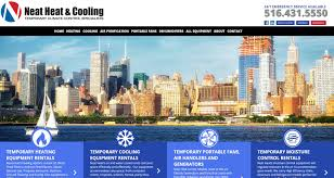 neat heat web services by design
