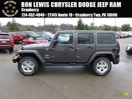 2014 Granite Metallic Jeep Wrangler Unlimited Sahara 4x4 88576885