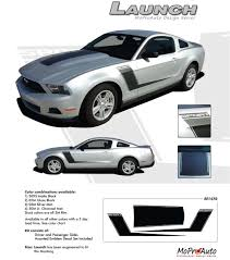 decals for ford mustang solid side hockey stick 3m graphics decals stripes 2010 2012