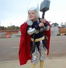 Thor Halloween Costume 25 Easy Diy Halloween Costumes Kids Craftriver