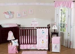 Bright Pink Crib Bedding by Amazon Com Ballet Dancer Ballerina Pink And White Baby