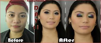 makeup artistry school vergie blogs before and after pictures for week 3 at mp school of