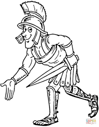 roman centurion coloring free printable coloring pages