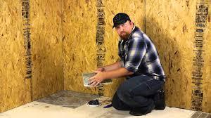 installing peel u0026 stick tile under a toilet flooring maintenance