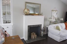 faux fireplace mantel for dact us