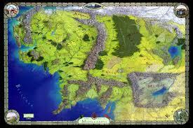 entire middle earth map entire middle earth map travel maps and major tourist