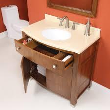 Walnut Bathroom Vanity by Adrianna 36 Inch Medium Walnut Bathroom Vanity