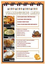 122 free esl thanksgiving worksheets