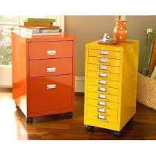painting a file cabinet painted metal cabinets yellow and orange painted file cabinets home
