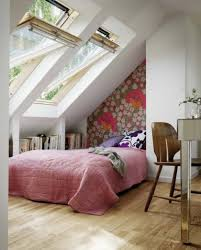 interactive attic bedroom ideas also natural wooden floor material