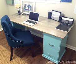 Diy File Cabinet Desk Diy Filing Cabinet Desk Hometalk