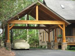 open carports carport with pitch roof open gable timber frame half timber half