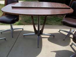 chromcraft mid century dining room kitchen table set with 4 chairs