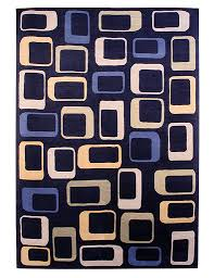 Colorful Modern Rugs Concentric Modern Rug J18614