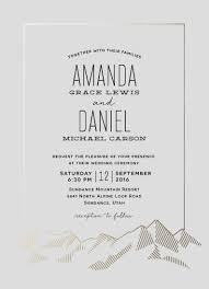Wedding Invitation Card Best 25 Mountain Wedding Invitations Ideas On Pinterest Rustic