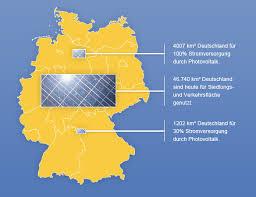 fl che deutschland rheinland solar photovoltaik in deutschland